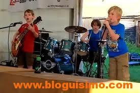 kids playing metallica