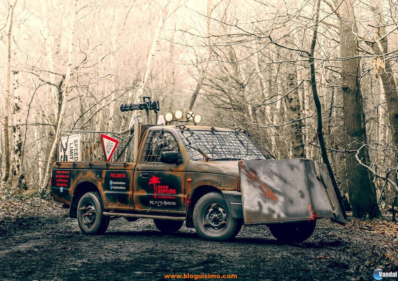 furgoneta antizombie