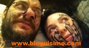 novia y novio tatuados