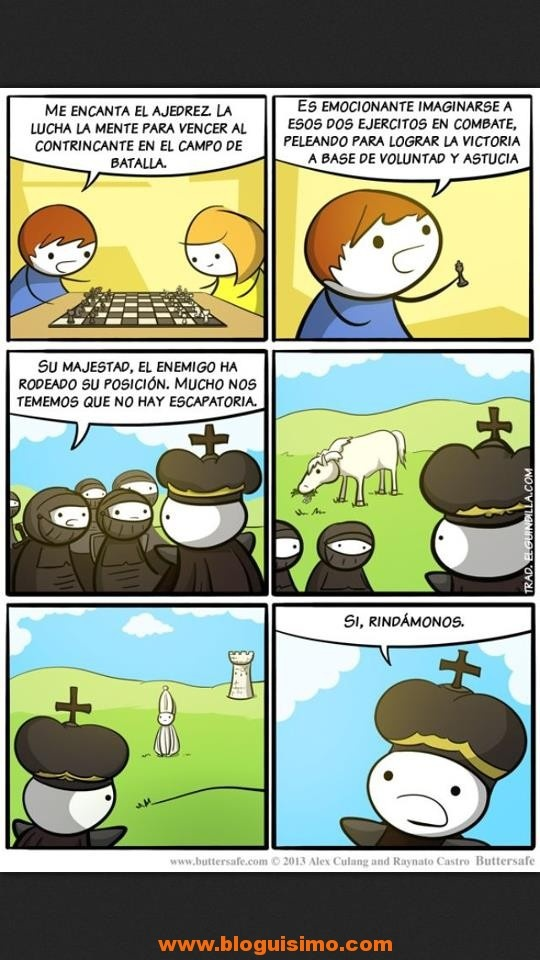 ajedrez en la vida real