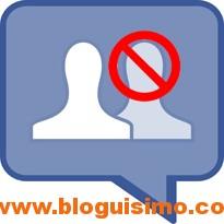 bloquear un amigo en facebook