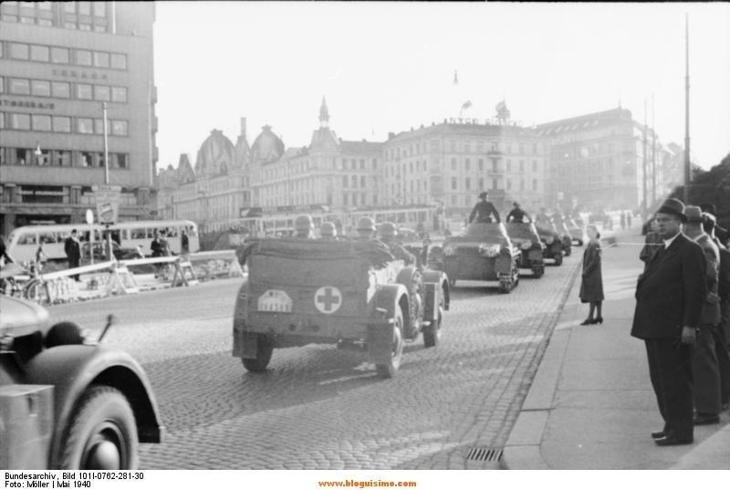 Oslo, deutsche Kfz und Panzer I