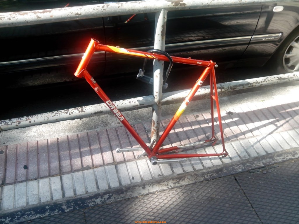 bici robada