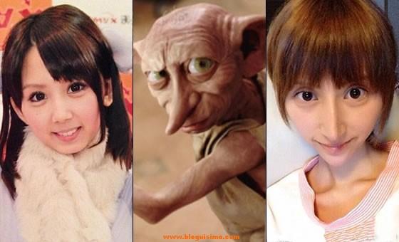 Rina-Nanase-Rumi-Kanda-elfo-Dobby-Harry-Potter