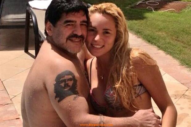 maradona vs  Rocío Oliva