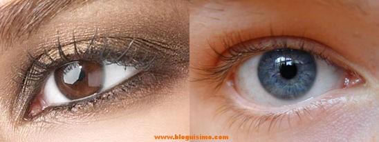 Los ojos marrones dan más confianza que los azules