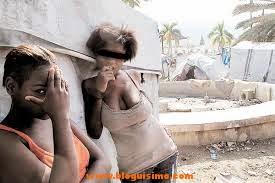 Niñas  haitianas se prostituyen por agua en haiti