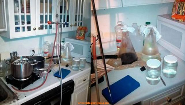 Un profesor de 65 años habría montado un laboratorio de droga al estilo 'Breaking Bad'