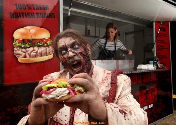hamburguesa sabor ccarne humana