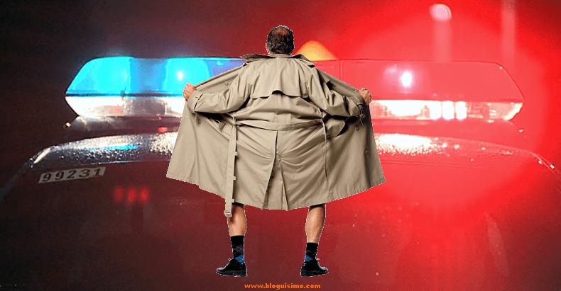 jason miller - policia que enseña sus genitales durante una detención