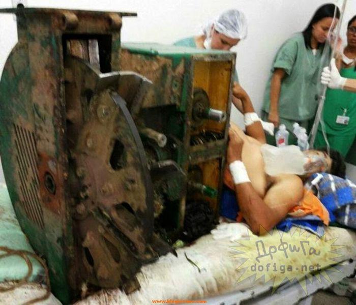 trituradora de residuos