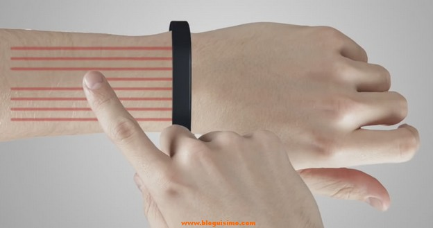 Proyecta tu smartphone en tu piel - Cicret Bracelet3