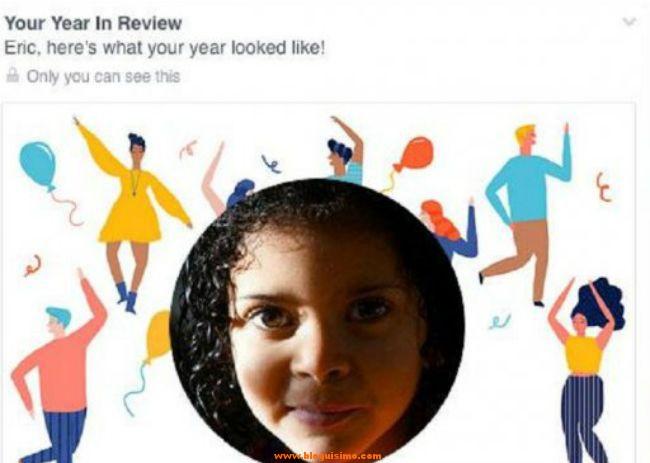 Recibe resumen del año Facebook encabezado con la foto de su hija fallecida