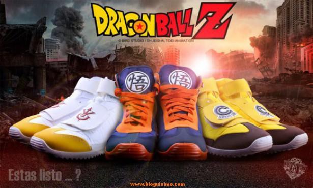 Las zapatillas de Dragon Ball que todo saiyan debería tener