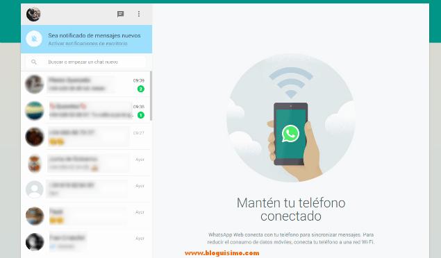 WhatsApp Web Ya puedes enviar mensajes desde el PC
