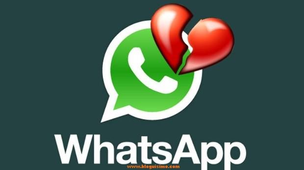 Cinco razones para romper una relación por whatsapp