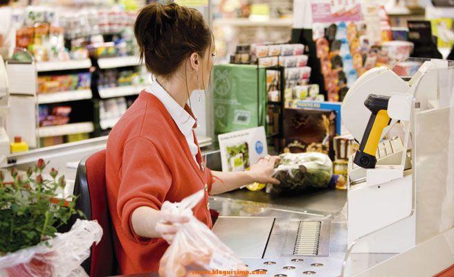 Pensamientos de una cajera de supermercado