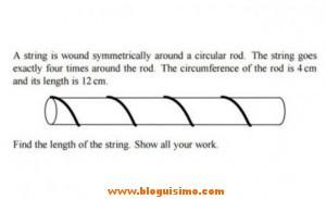 Problema de matemáticas que fallan nueve de cada diez alumnos