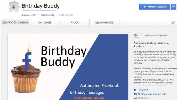 Cómo felicitar cumpleaños en Facebook automáticamente