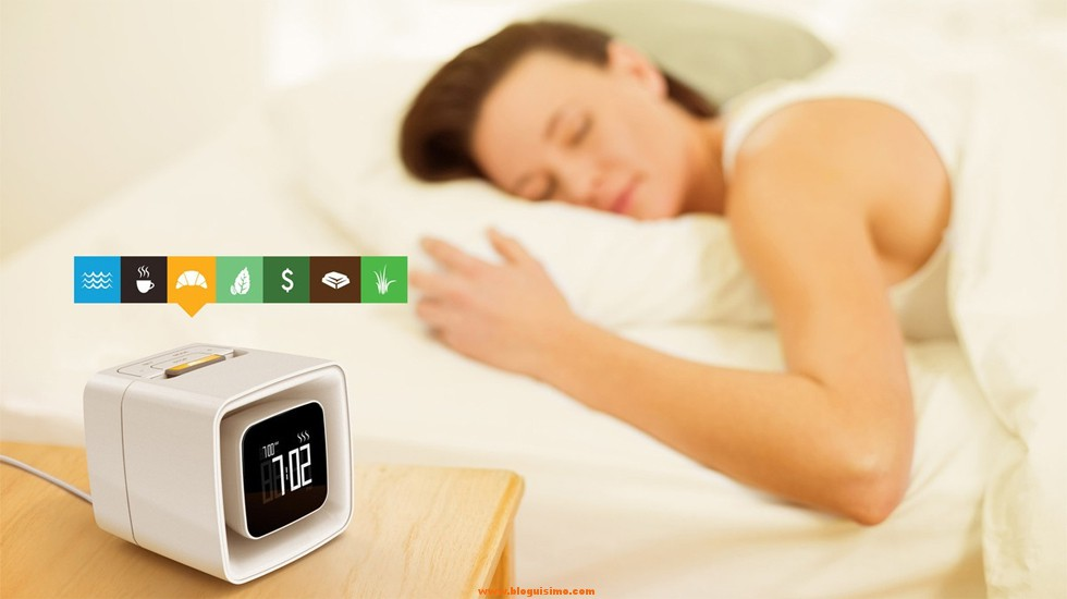 El despertador que te levanta de cama con olor a cruasán o a café recién hecho
