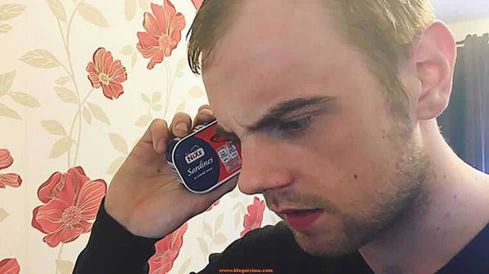 Pide un Galaxy S6 Edge a su operador y recibe una lata de sardinas