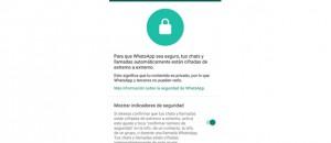 WhatsApp tiene un menú secreto de seguridad