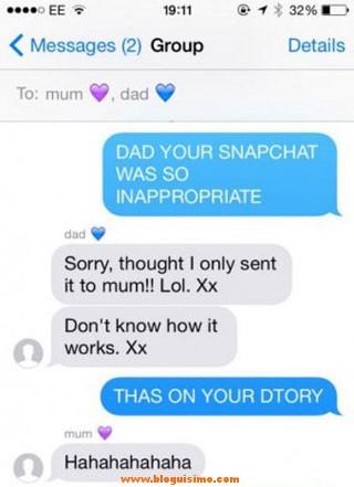 Envía imagen porno a su hija por no saber usar Snapchat 2