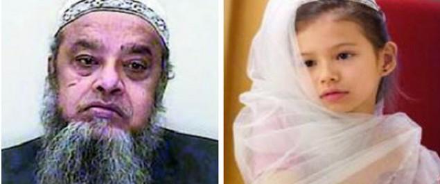 Muere Niña de 8 Años a manos de su esposo de 40, en la noche de bodas