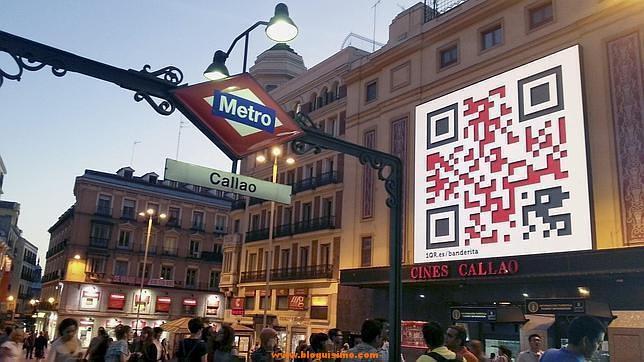 Los códigos QR facilitan información a través de un dispositivo móvil