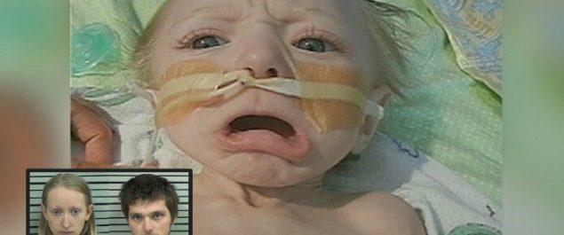 A una pareja de 21 años le caen 60 años de cárcel por hacerle esta monstruosidad a su pequeño bebé