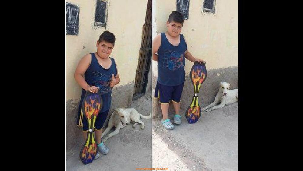 un-nino-de-nueve-anos-vende-su-patinete-para-poder-llevar-al-veterinario-a-un-perro-abandonado