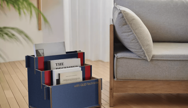 La cajas también se pueden aprovechar para almacenar revistas